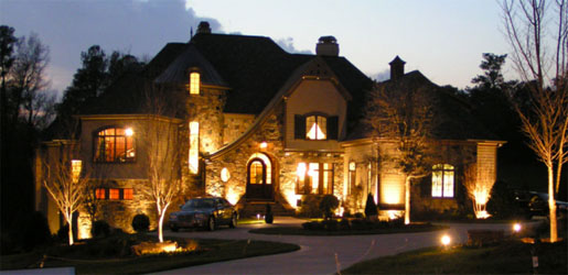Residential & commercial security lighting & security cameras - Kelowna Electrician installation