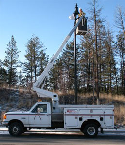 streetlight repairs and maintenance in Kelowna and Okanagan area