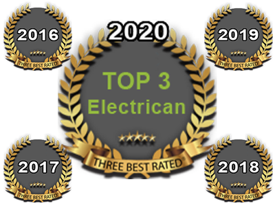 Three Best Rated Electrican 2020, 2019, 2018, 2017, 2016